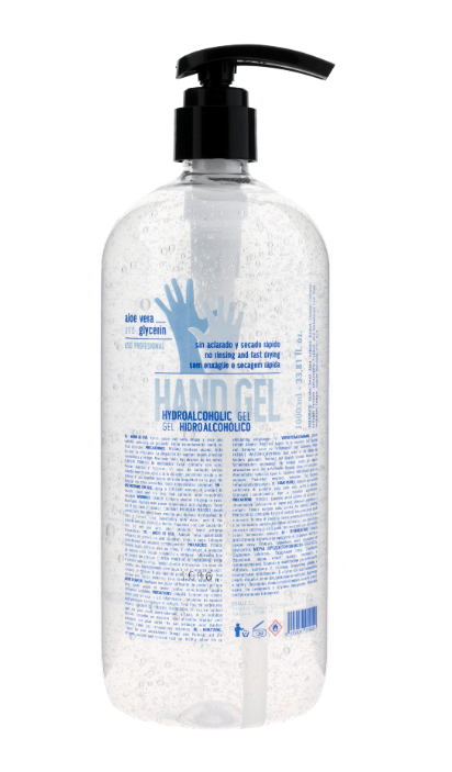 Gel Hidroalcohólico con dosificador